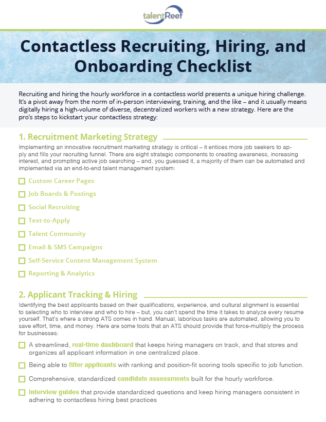 Contactless Checklist Thumbnail